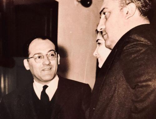 Mario Verdone e Federico Fellini
