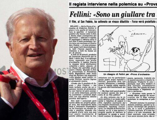 """Fellini : """"Sono un giullare tra i politici"""""""