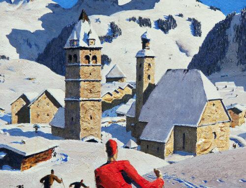 """Alfons Walde: il pittore che """"ricreava"""" la neve"""